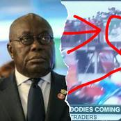 See what happened right in the face of Nana Addo yesterday during a rally.
