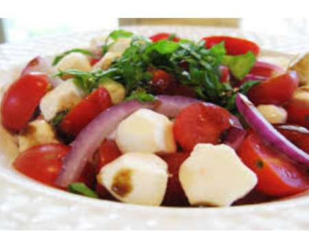 If You're Looking To Eat More Tasty Food, Then Try This Homemade Margheritu Salad