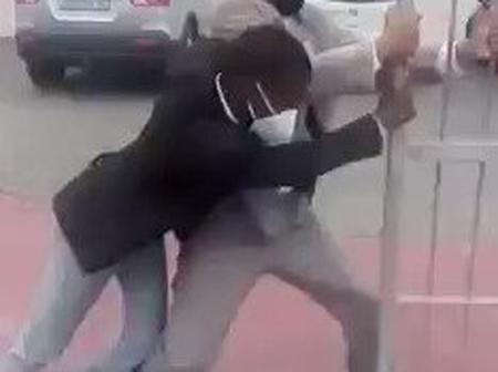 Wrestling Match At Church Gate In Mdantsane: The Last Part Will Leave You In Stitches