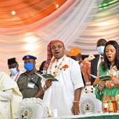 See The New Official Akwa Ibom State Flag, Coat Of Arms and Anthem With Their Creators.