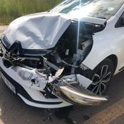 """""""Fikile mbalula must fix the road my sister almost lost her life and a cyclist died a week ago."""""""