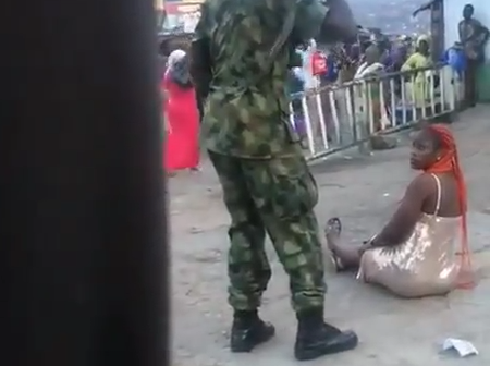 Checkout What Happened To The Soldiers That Was Seen Assaulting Residents Of Oyo In A Viral Video