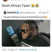 Heavy K insults a fan after he called him South African T-Pain