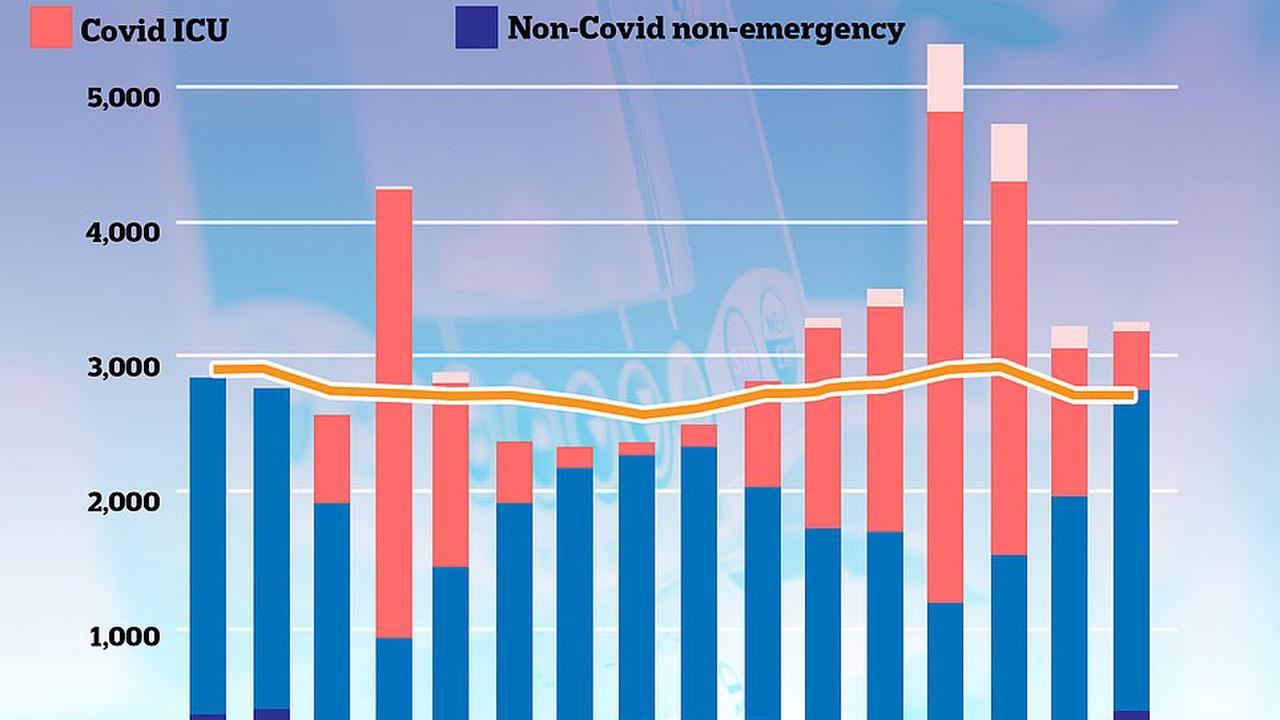 Covid hospital cases 'would match first peak' if June 21 Freedom Day went ahead