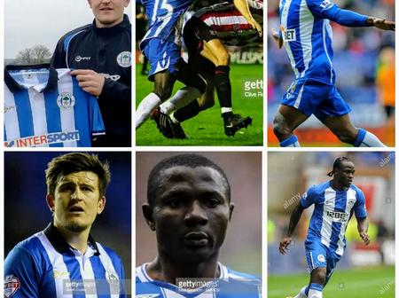 Throwback Photos Of Maguire, Julius Aghahowa And Victor Moses As Wigan Athletic Players