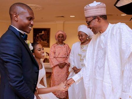 Throwback Wedding Photos Of Vice President Osinbajo's Daughter That Gave Birth Yesterday