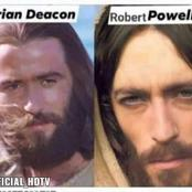 Brian Deacon and Robert Powell pictures used as Jesus picture is the most viral picture in the world