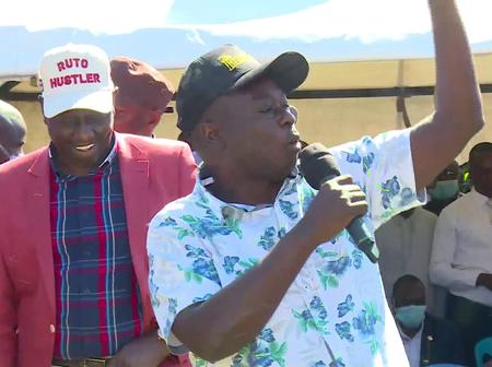 Ruto Ally, Rigathi Gachagua, in Trouble After his Words in Bomet (VIDEO)