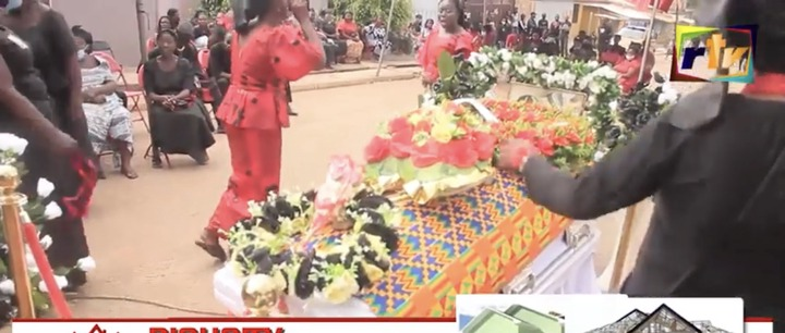 093fa07e96d23f19255382aa9fac25e4?quality=uhq&resize=720 - Sad: Scenes from the KNUST Uber driver funeral who was murdered by a final year student(Photos)