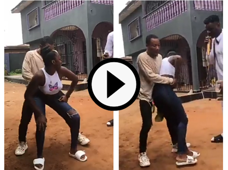 Video: Dancing Competition At A Birthday Party, See Who Won Among The 4 Contestants