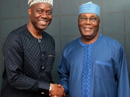 Oyo State Governor Seyi Makinde Celebrates Former Vice President Of Nigeria Atiku On His Birthday.