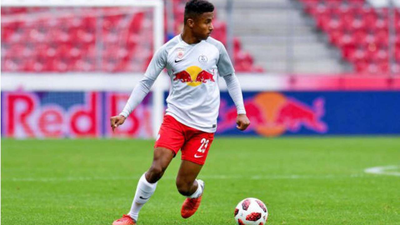 Salzburg's Nigerian forward Adeyemi 'can't compare himself with Haaland'