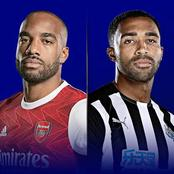 Arsenal Vs Newcastle United Lineups For English Premier League Match Scheduled For 11:00 PM EAT