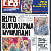 Newspaper Headlines: Ruto's Woes Continues, Lovers Turns To Suspects in Love Triangle Among Others