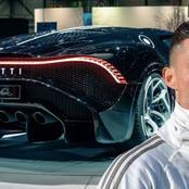 Cristiano Ronaldo buys world's most expensive car, a Bugatti La Voiture Noire -See Photos