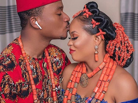 Check Out These Awesome Igbo Traditional Wedding Attires, For Pretty Ladies And Gentle Men (Photos)