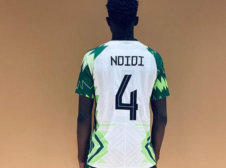 """Onyinye Wildfred """"Ndidi"""" Shares Stunning pictures of New Nigeria kits (See photos)."""