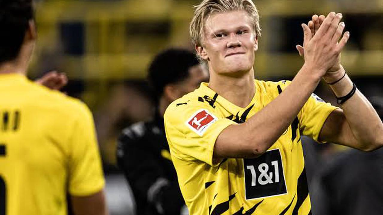 Erling Haaland of Borussia Dortmund names three of his best center-backs in the world