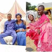 Reactions As Two Teenagers Tie The Knot In Nigeria (Photos)