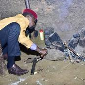 Didmus Barasa Was Cooking While His Boss Was In Meru