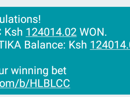 How I Have Just Won Ksh 124,000 On Betika, How You Can Win Big and Avoid Losing