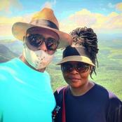 Former Isibaya actor, Duma and his beautiful wife celebrate their 14 anniversary.
