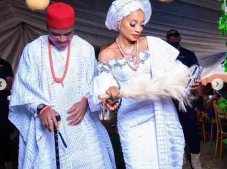 Channels Television Presenter Finally Ties The Knot See Photos