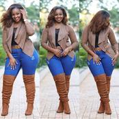 Elegant Jean Style Inspirations For Beautiful Ladies (Photos)