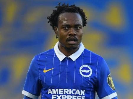 Brighton and Hove Albion provides an update on Percy Tau