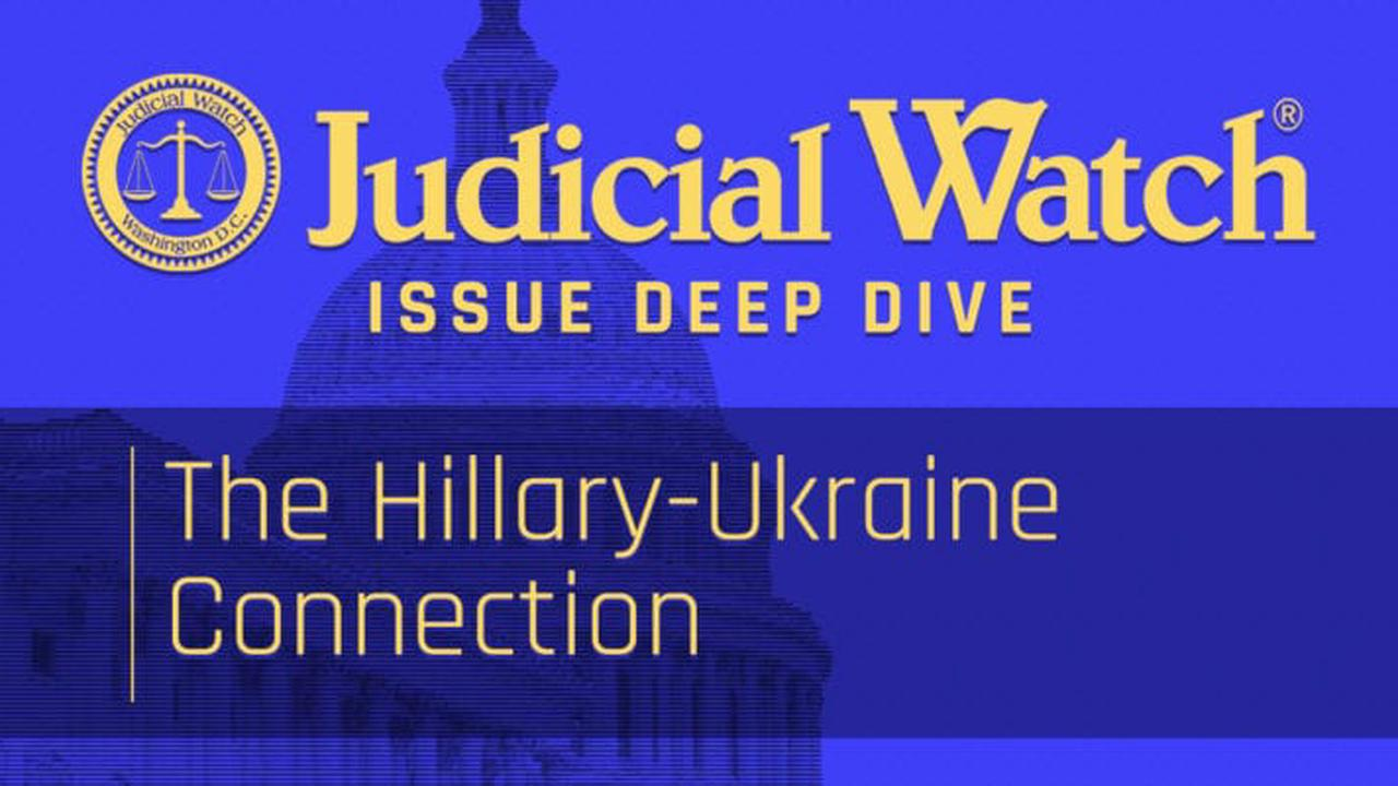 The Hillary-Ukraine Connection