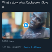 """He Killed His Friend Because His Friend Ate The Cabbage On His Suya"" - Man Narrates (Video)"