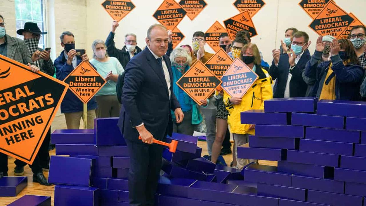 Lib Dems can topple Tory 'blue wall' in south of England, says leader
