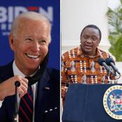 Good News to Kenyans As President Uhuru's Leadership Gets Applauded by US President Joe Biden