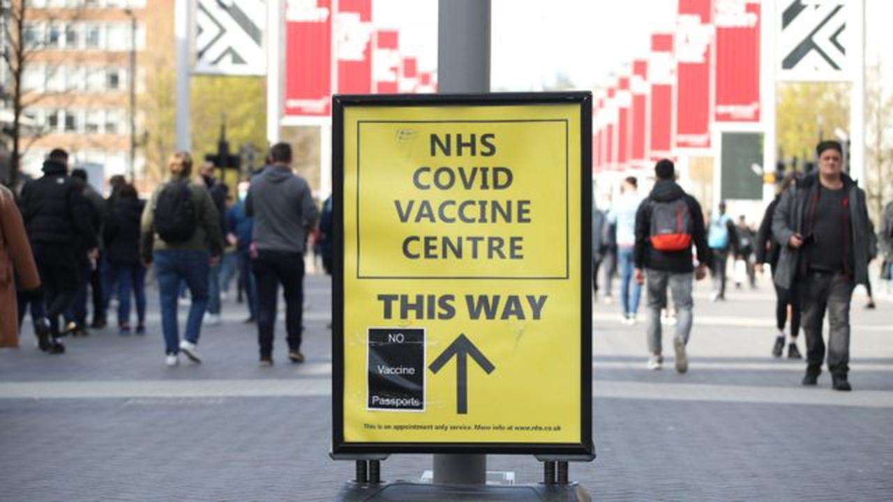 Third of adults in Wales have now received a two-dose course of a covid vaccine