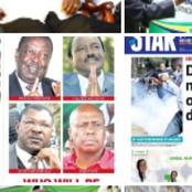 Monday Newspaper Headlines Review