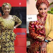 Kannywood:Check out past and Present pictures of Hafsat Idris