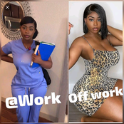 Watch: 20 Photos Of A Nurse That Is Causing Stir On Social Media!!
