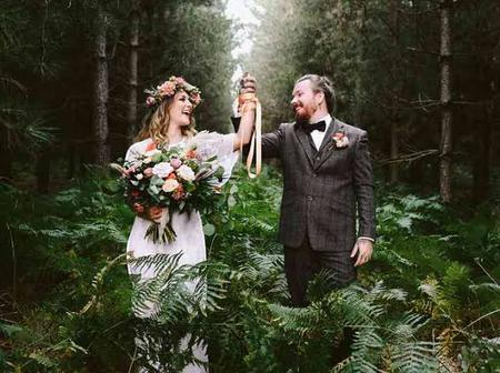 Photos Of Couples Getting Married In The Bush