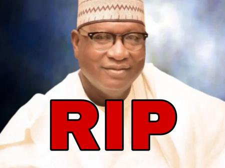 Instead of Mourning, See What Nigerians Are Posting Concerning The Death Of APC Chairman in Nasarawa