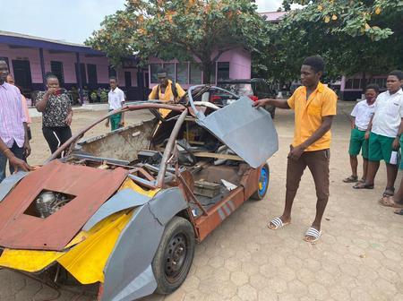 Kelvin Odartei : le jeune Ghanéen qui a fabriqué sa propre voiture à 14 ans (vidéo)