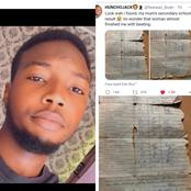 """I Found My Mum's Secondary School Result, Now I Know Why She Used To Beat Me"" - Man Shares Photos"