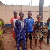 Father and his 7 children arrested by the Ogun state police command over kidnapping