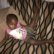 See Some Crazy Ways Little Children Sleep At Home