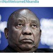 Cyril Ramaphosa Has Been Told Not To Be Part Of The Top 6 members Going To Meet Zuma at Nkandla