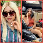 See The Names Fans Gives Regina Daniels As She Asks Them To Give Her Name In Their Tribe(Photos)