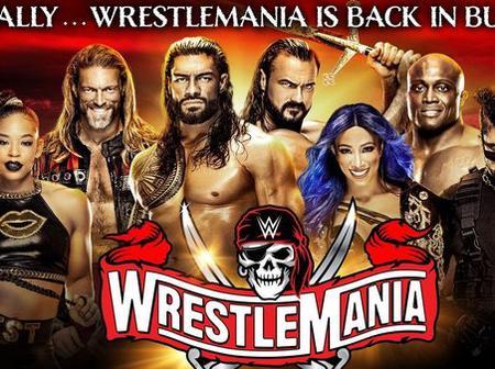 Wrestling ; Fixtures for WrestleMania 37