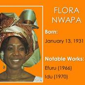 See the First Female African Writer Who is Proudly a Nigerian