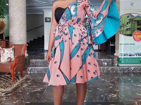 Checkout Beautiful Photos Of Actress Mercy Aigbe On Ankara Styles