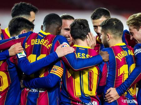 Barcelona set two new record by becoming the 1st team to achieve this feat in Europe's top 5 leagues