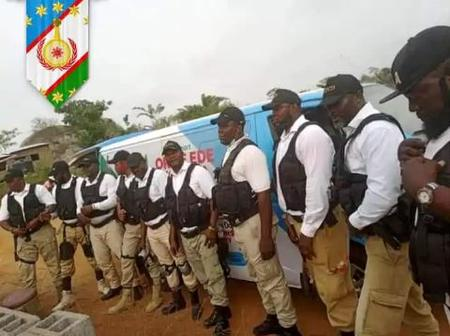 The Security Force For Oduduwa Republic Has Been Unveiled By A Group, See Pictures.